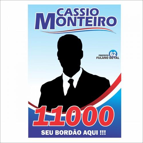 01- Santinho - 4x4 - 7x10cm - Sem Verniz - Couche 90g - 5.000 unid