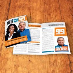 05- Jornal Informativo   4 Pág.   30x42 cm   4x4   Papel Sulfite 75g   Sem Verniz   50.000 Unid.