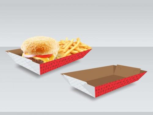 14- Embalagens Bandeja Multiuso Média   19,5x11,4x4 cm   Triplex 250g   4x0 cores   Sem Verniz   3.000 Unid.