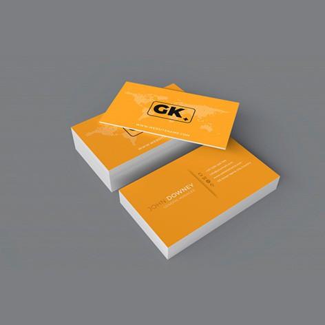 12- Cartão de Visita - 4x4 - Sem Verniz - Triplex 250g - 100 unid