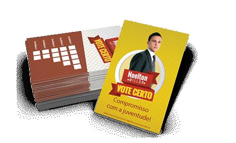 11- Cartão Colinha - 4x4 - Sem Verniz - Couche 115g - 5.000 unid