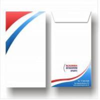 01- Envelope Saco   31 x 41 cm   Offset 120g   4x0 cores   Sem Verniz   250 Unid.